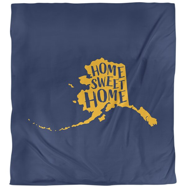 Home Sweet Alaska Duvet Cover