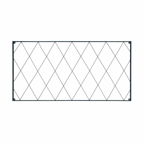 Oxfordshire Extension Iron Lattice Panel Trellis by ACHLA