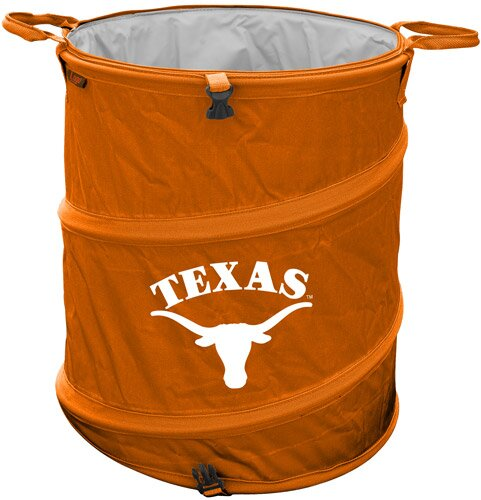 Collegiate Trash Can - Texas by Logo Brands