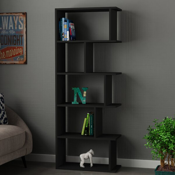 Celina Modern Geometric Bookcase By Wrought Studio