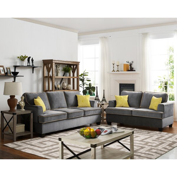 #2 Whittlesey 2 Piece Living Room Set By Ebern Designs 2019 Sale