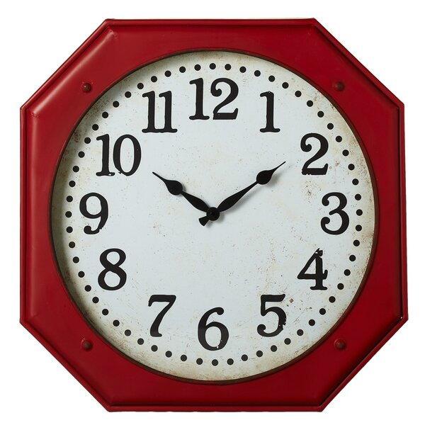 Octagon 19.88 Wall Clock by August Grove