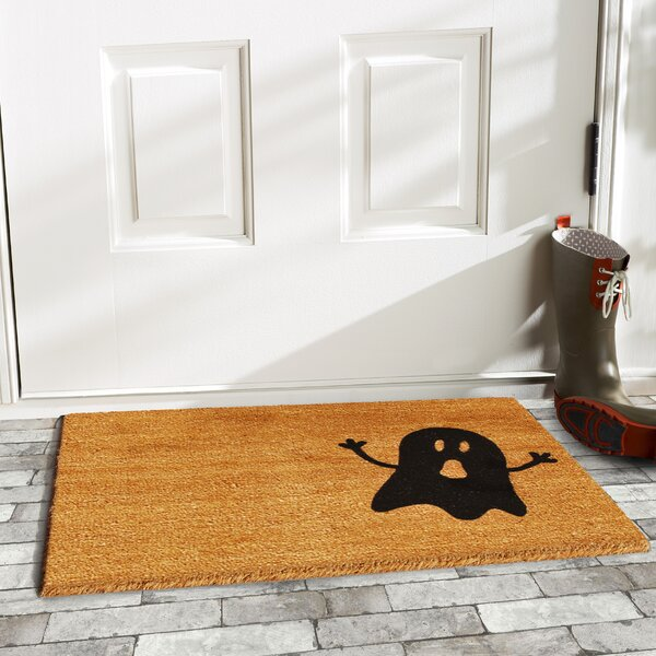Ghost Doormat by Home & More