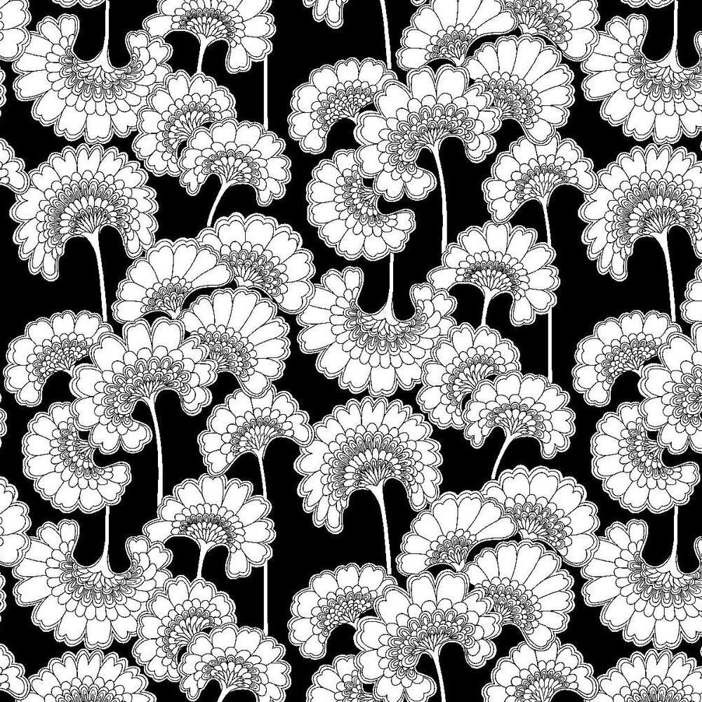 York Wallcoverings Japanese Floral 27 L X 27 W Wallpaper Roll