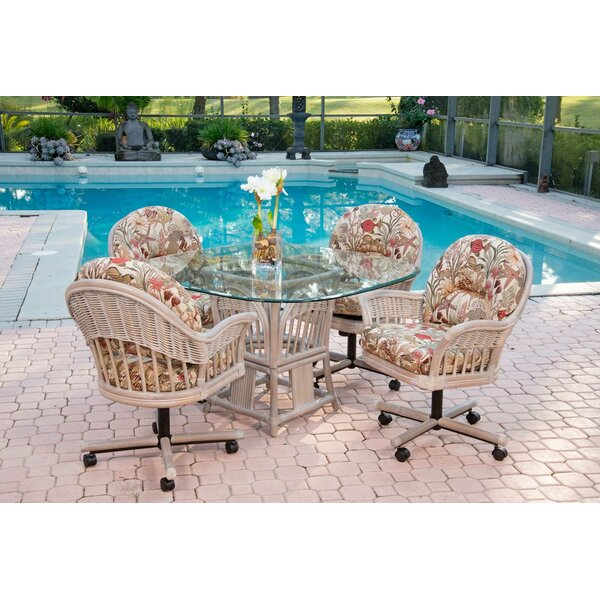 Moonsu 5 Piece Dining Set by Bayou Breeze