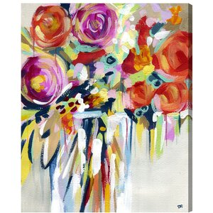 'Secret Garden' Painting Print on Wrapped Canvas by Willa Arlo Interiors