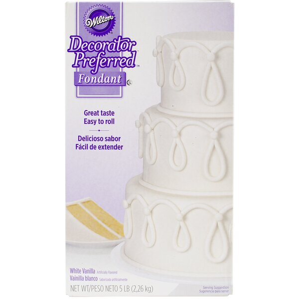 Non-Stick Decorator Preferred Fondant by Wilton