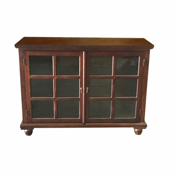 Carmelita Kiln Dried Solid Mahogany Library Accent Cabinet by Canora Grey