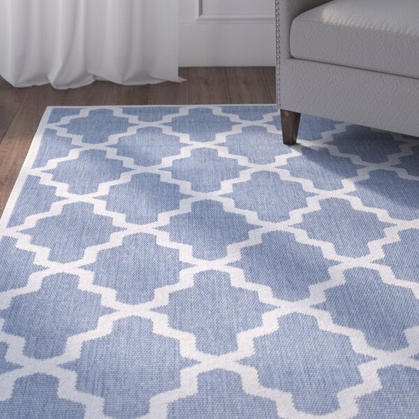 Sidell Blue Area Rug by Alcott Hill