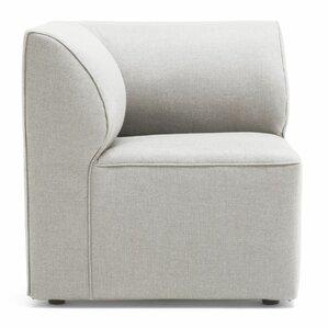 Big Joe Lux Modular Indoor/Outdoor Corner Piece Chair With Cushion