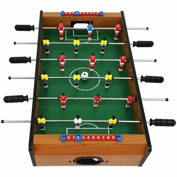 Commodore Tabletop Foosball Table Game 15 with Legs by Freeport Park