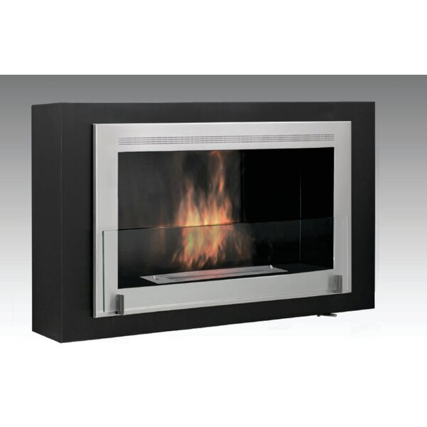 Montreal Wall Mounted Ethanol Fireplace By Eco-Feu
