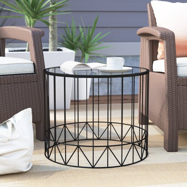 Pittard Home Garden Patio Accent Metal 2 Piece Coffee Table Set by Brayden Studio
