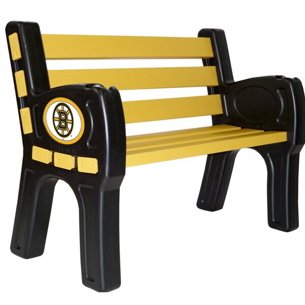 NHL Officially Licensed Plastic Park bench by Imperial International