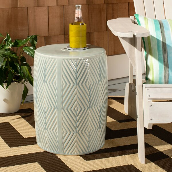Ruyle Ceramic Garden Stool By Bungalow Rose