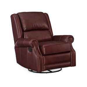 Jared Swivel Recliner by Hooker Furnit..