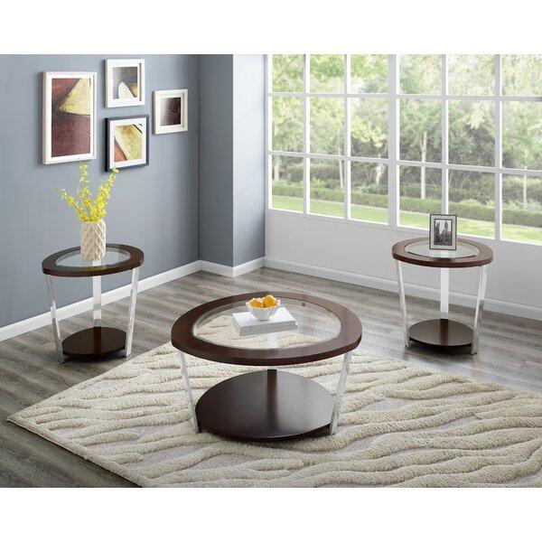 Malakoff 3 Piece Coffee Table Set by Orren Ellis Orren Ellis