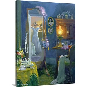 'Dressing Room (Victorian Style)' by William Ireland Painting Print on Wrapped Canvas by Great Big Canvas