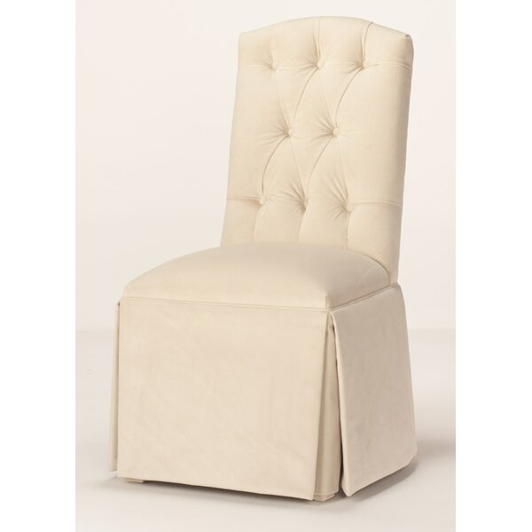 Pearce Diamond Tufted Skirted Side Chair By Red Barrel Studio