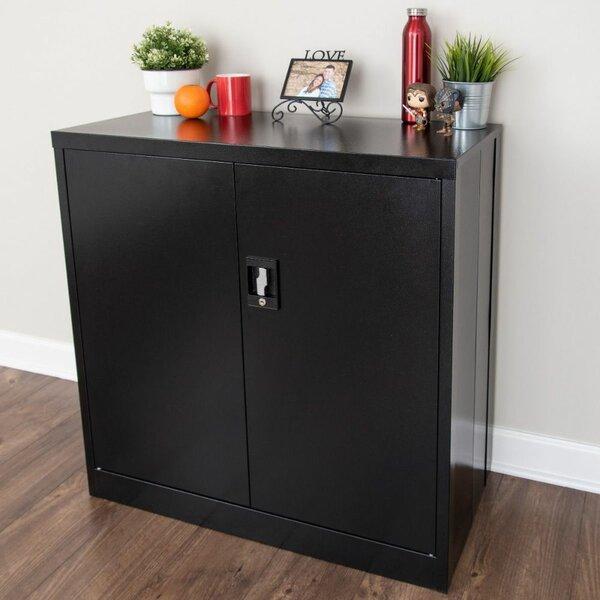 Raffaele Folding Metal Storage Cabinet