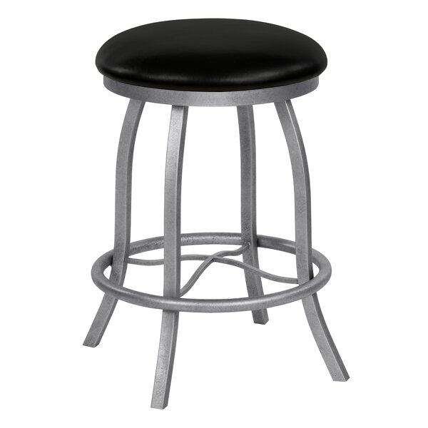 Rosalie 26 Swivel Bar Stool by Orren Ellis