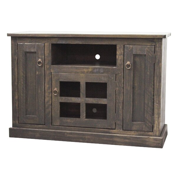 Perseus Solid Wood TV Stand For TVs Up To 55