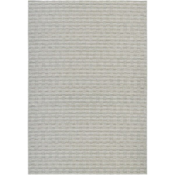 Siclen Light Blue/Silver Indoor/Outdoor Area Rug by Trent Austin Design