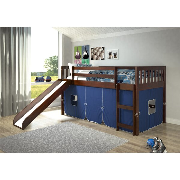 Selzer Mission Twin Low Loft Bed by Viv + Rae