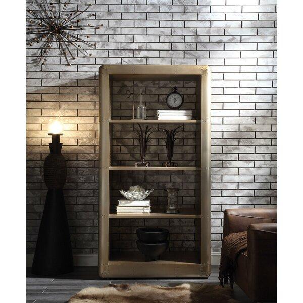 Michel Wooden Standard Bookcase By Williston Forge