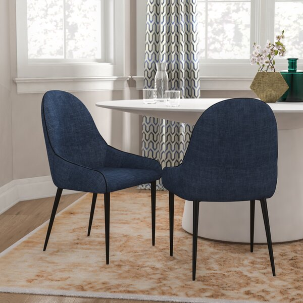 Enright Upholstered Dining Chair (Set Of 2) By Brayden Studio