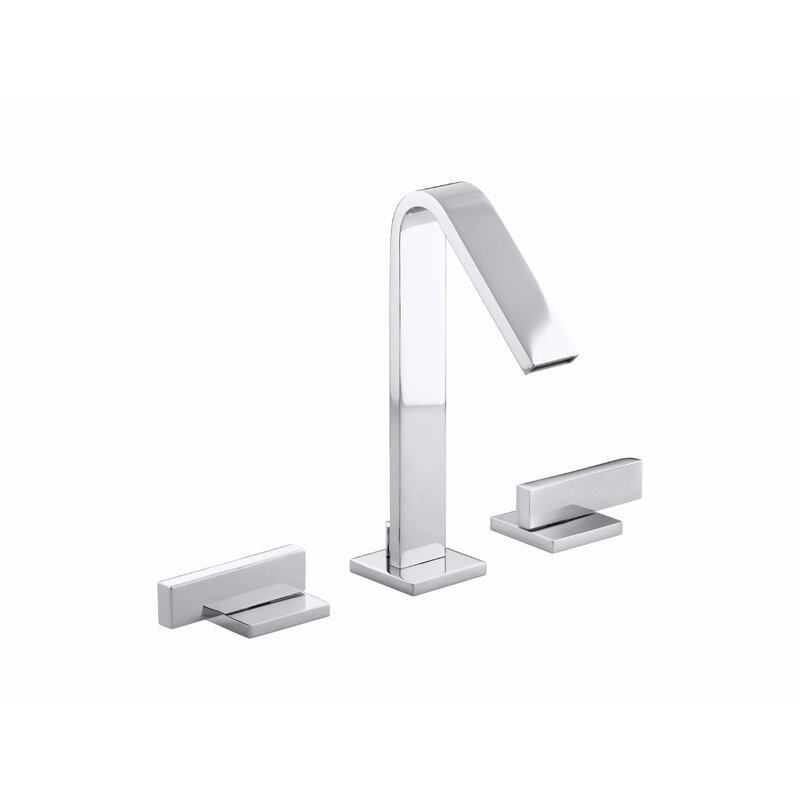 K-14661-4-BN,CP,SN Kohler Loure Widespread Bathroom Sink Faucet ...