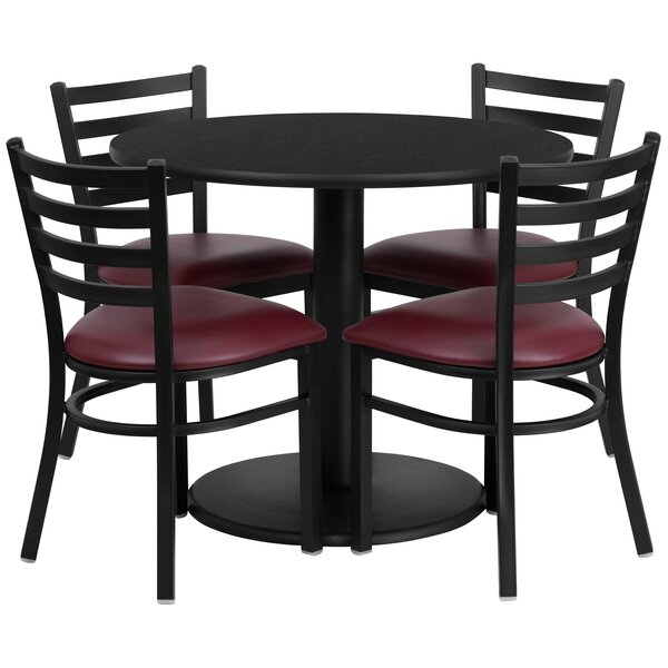 Troutdale 5 Piece Dining Set by Red Barrel Studio