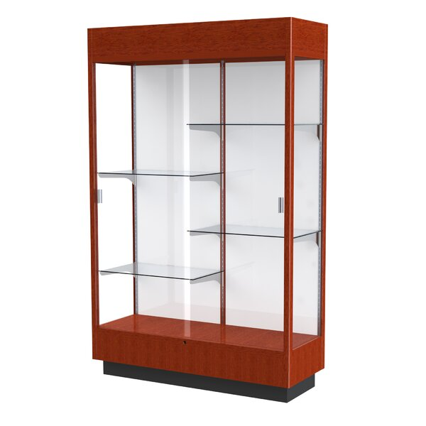 Heritage Series Floor Display Case with Lighted Co