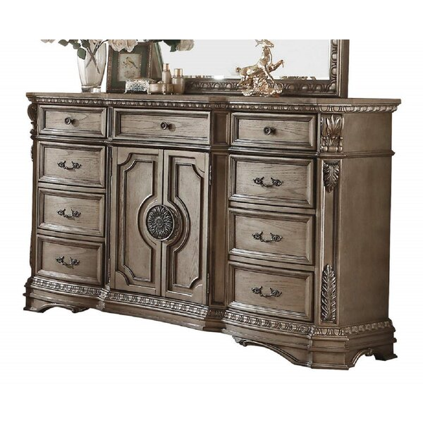 Carranza 9 Drawer Combo Dresser By Astoria Grand by Astoria Grand 2020 Sale