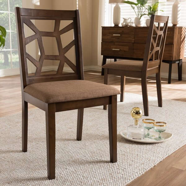 Crisfield Solid Wood Dining Chair (Set of 2) by Bloomsbury Market