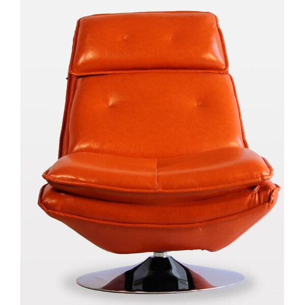 Turin Swivel Lounge Chair By Pasargad NY