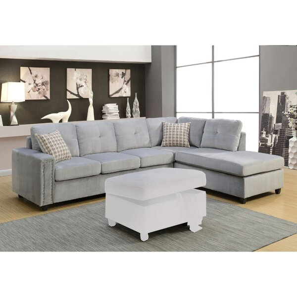 Klatt Grand Sectional Sofa by Mercer41
