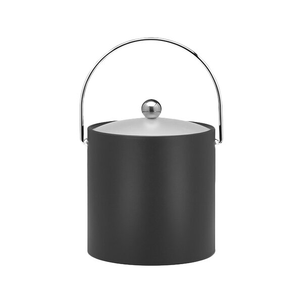 Binegar 3 Qt. Ice Bucket in Black by Langley Street