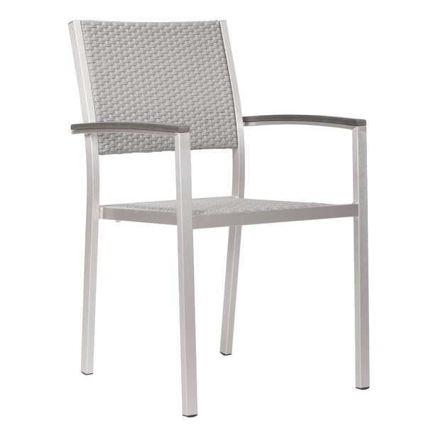 Terzenbach Stacking Patio Dining Chair (Set of 2) by Orren Ellis