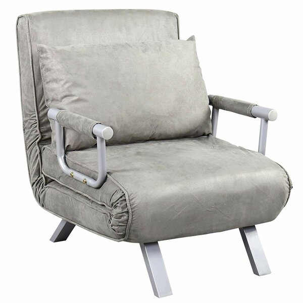 Deluca Single Person Folding 5 Position Convertible Chair by Ebern Designs