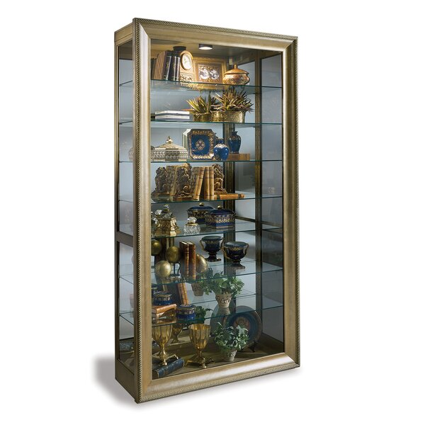 Vermeer Lighted Curio Cabinet By Philip Reinisch Co. Spacial Price