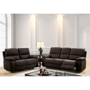Hellwig Contemporary Manual Wall Hugger Configurable Living Room Set By Red Barrel Studio