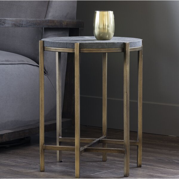 Bashaw End Table by World Menagerie