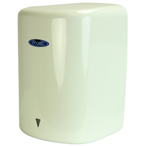 Automatic High Speed Hand Dryer in White by Frost Products
