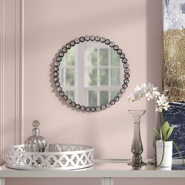 Kistler Jewel Edged Accent Mirror by House of Hampton
