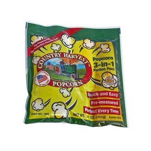 12 oz. Country Harvest Popping Corn Portion Pack (Set of 72) by Paragon International