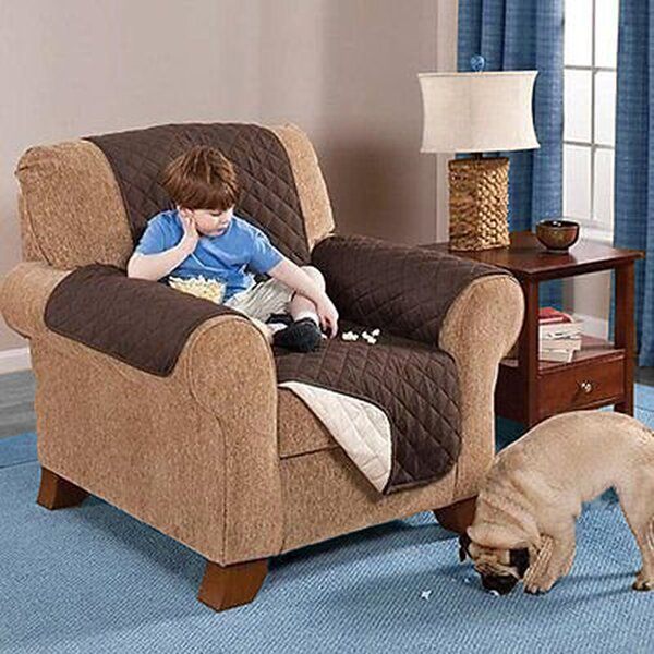 Discount Reversible T-cushion Loveseat Slipcover