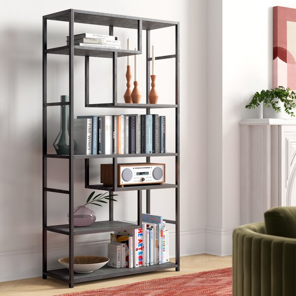 Annabelle Geometric Bookcase By Foundstone