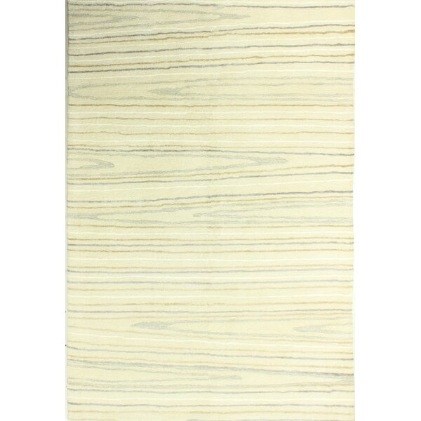 Kelson Hand-Tufted Ivory Area Rug by Latitude Run