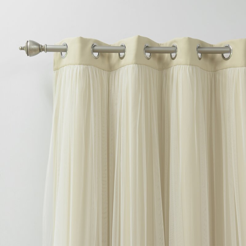 How To Add Large Grommets Curtains